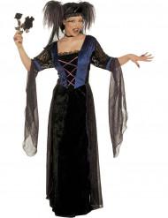 Gotiek prinsessen Halloween kostuum voor vrouwen