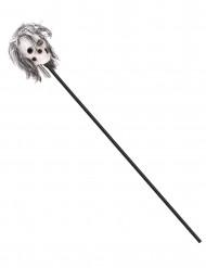 Halloween scepter met voodoo doodskop