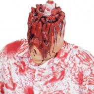 Afgehakt hoofd masker voor volwassenen
