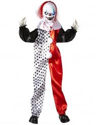 Lichtgevende clown decoratie 90 cm