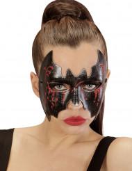 Bloedige vleermuis masker voor dames Halloween