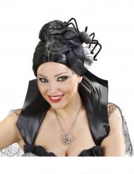 Mini spinnenhoed voor vrouwen Halloween