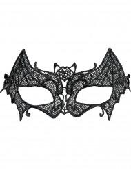 Vleermuis halfmasker voor vrouwen