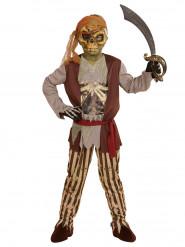 Zombie piratenkostuum voor jongens