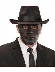 Zwart anoniem masker voor volwassenen