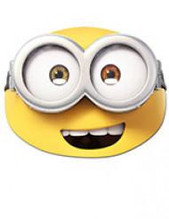 Minion™ Bob masker voor volwassenen