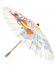 Kleurrijke Chinese paraplu