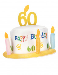 Happy Birthday 60 jaar hoed