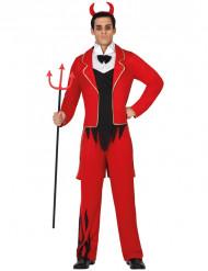 Rode duivel kostuum voor heren Halloween