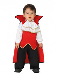 Rode vampier kostuum voor baby