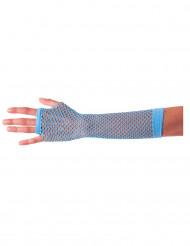 Blauwe visnet handschoenen