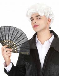 Witte markies pruik voor mannen