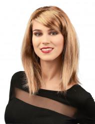 Blonde glamour pruik voor vrouwen