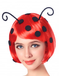 Lieveheersbeestje pruik voor vrouwen
