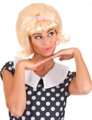 Blonde Starlet retro pruik voor vrouwen