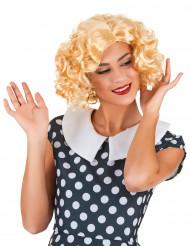 Blonde starlet pruik voor vrouwen