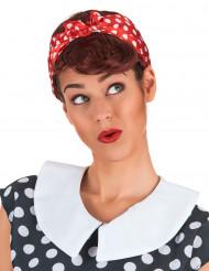 Kastanjebruine Pin-up pruik voor vrouwen