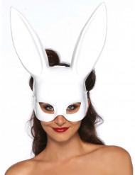 Wit konijnenmasker