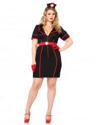 Sexy verpleegster kostuum grote maten voor vrouwen