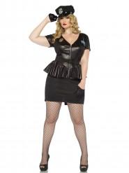 Politie agente kostuum voor dames + Size