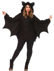 Zwart vleermuis kostuum voor vrouwen