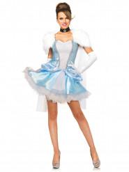 Blauwe prinses kostuum voor vrouwen