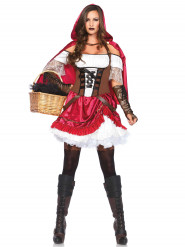 Rebelse Roodkapje outfit voor vrouwen