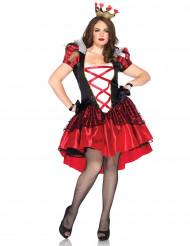 Hartenkoningin kostuum voor dames + size