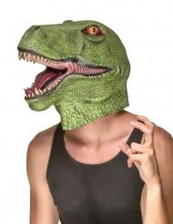 Dinosaurus latex masker voor volwassenen