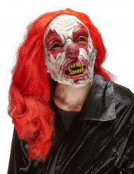Enge clown latex masker voor volwassenen Halloween