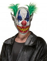 Horror clown Halloween masker volwassenen