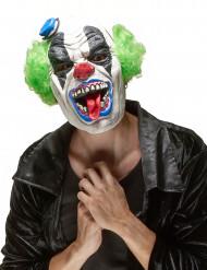 Halloween masker verschrikkelijke clown voor volwassenen
