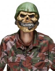 Doodskop soldaat masker voor volwassenen Halloween