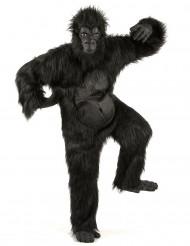 Zwart gorilla kostuum voor volwassenen