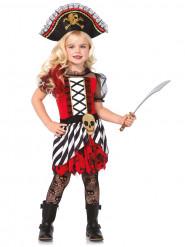 Piratenkostuum met kant voor meisjes
