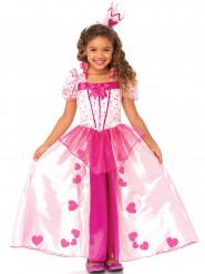 Roze prinses kostuum voor meiden