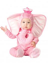 Roze olifant kostuum voor baby