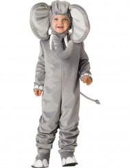 Grijze olifant kostuum voor kinderen - Premium