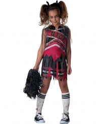 Zombie cheerleader kostuum voor meisjes Halloween