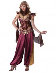 Luxe Oosterse danseres kostuum voor dames