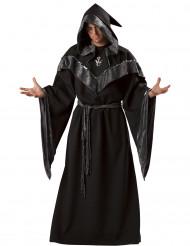 Donkere tovenaar kostuum voor heren - Premium