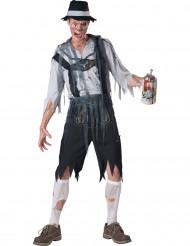Zombie Beiers kostuum voor heren - Premium