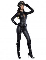 Luxe sexy kapitein kostuum voor dames