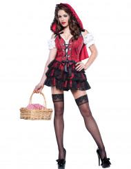 Sexy Roodkapje kostuum voor dames - Premium
