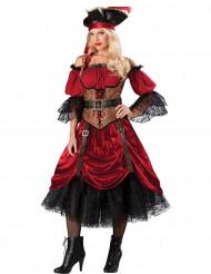 Deluxe piraten kostuum voor dames