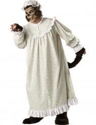 Grote boze wolf deluxe kostuum volwassenen