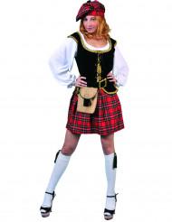Schotse kostuum voor vrouwen