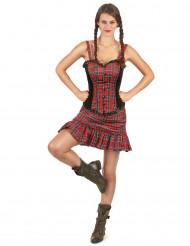 Schotse jurk voor vrouwen