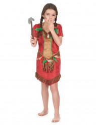 Rood indianenkostuum voor meisjes