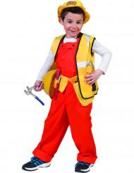 Bouwvakker kostuum voor jongens